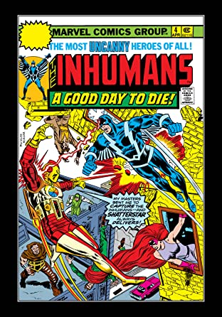 Inhumans (1975-1977) No.4