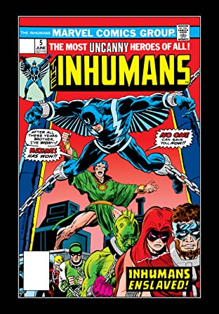 Inhumans (1975-1977) No.5