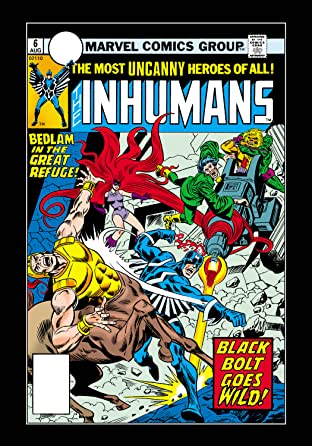 Inhumans (1975-1977) No.6