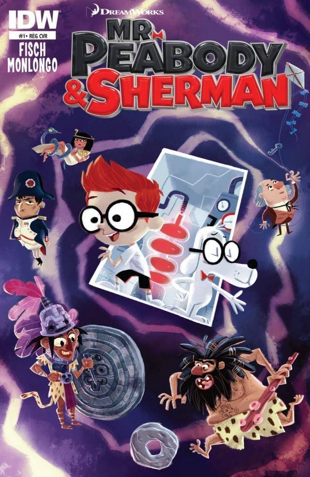 Mr. Peabody & Sherman #1 (of 4)