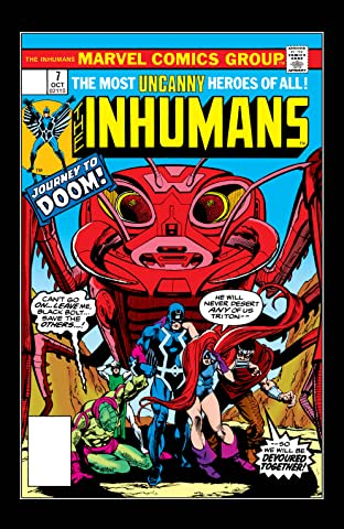 Inhumans (1975-1977) No.7