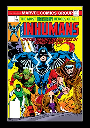 Inhumans (1975-1977) No.8