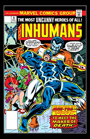 Inhumans (1975-1977) No.9