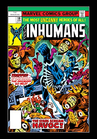 Inhumans (1975-1977) No.10