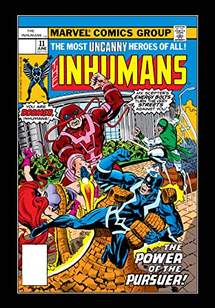 Inhumans (1975-1977) No.11