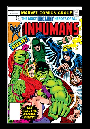 Inhumans (1975-1977) No.12