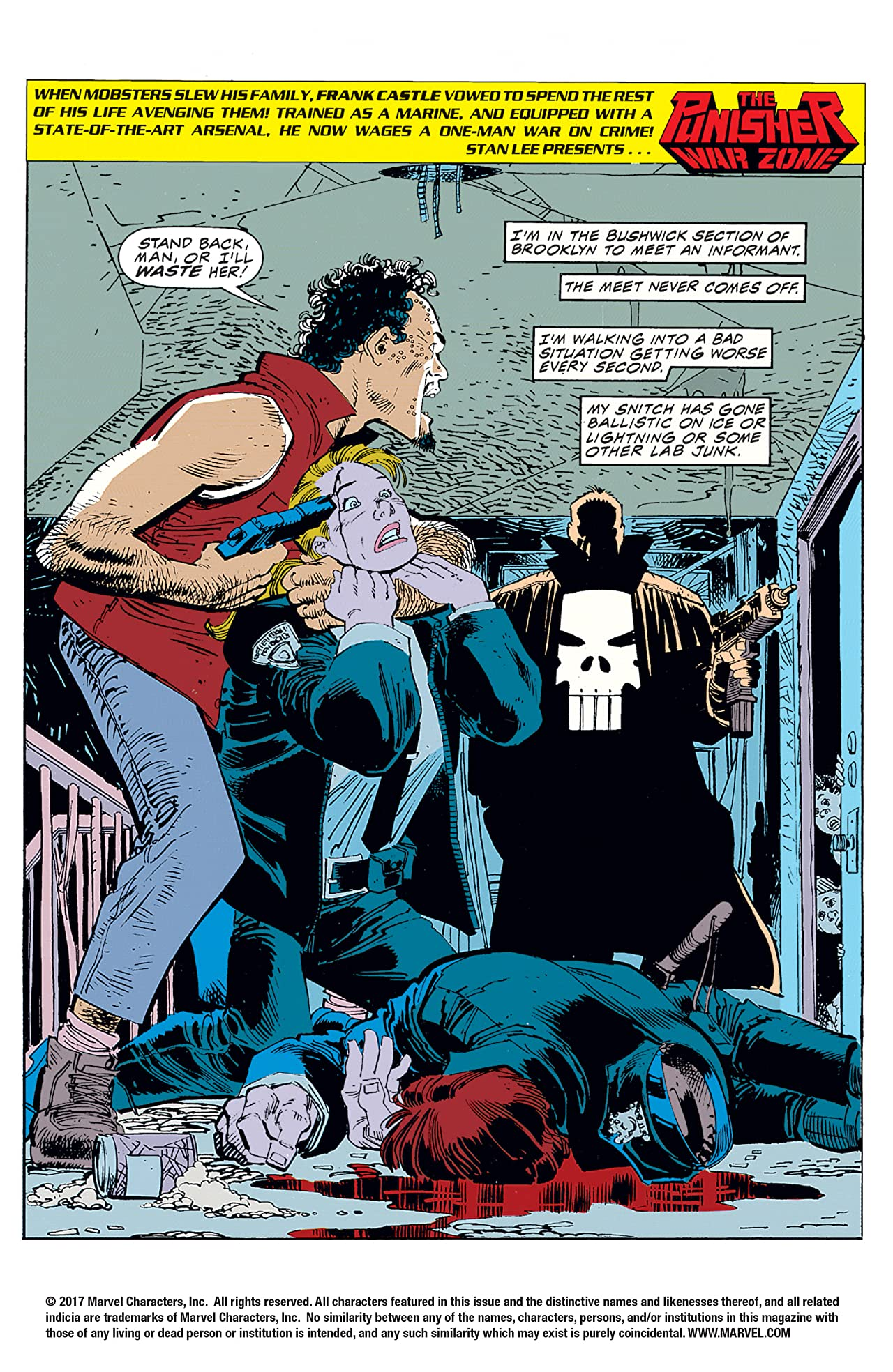 The Punisher: War Zone (1992-1995) #1