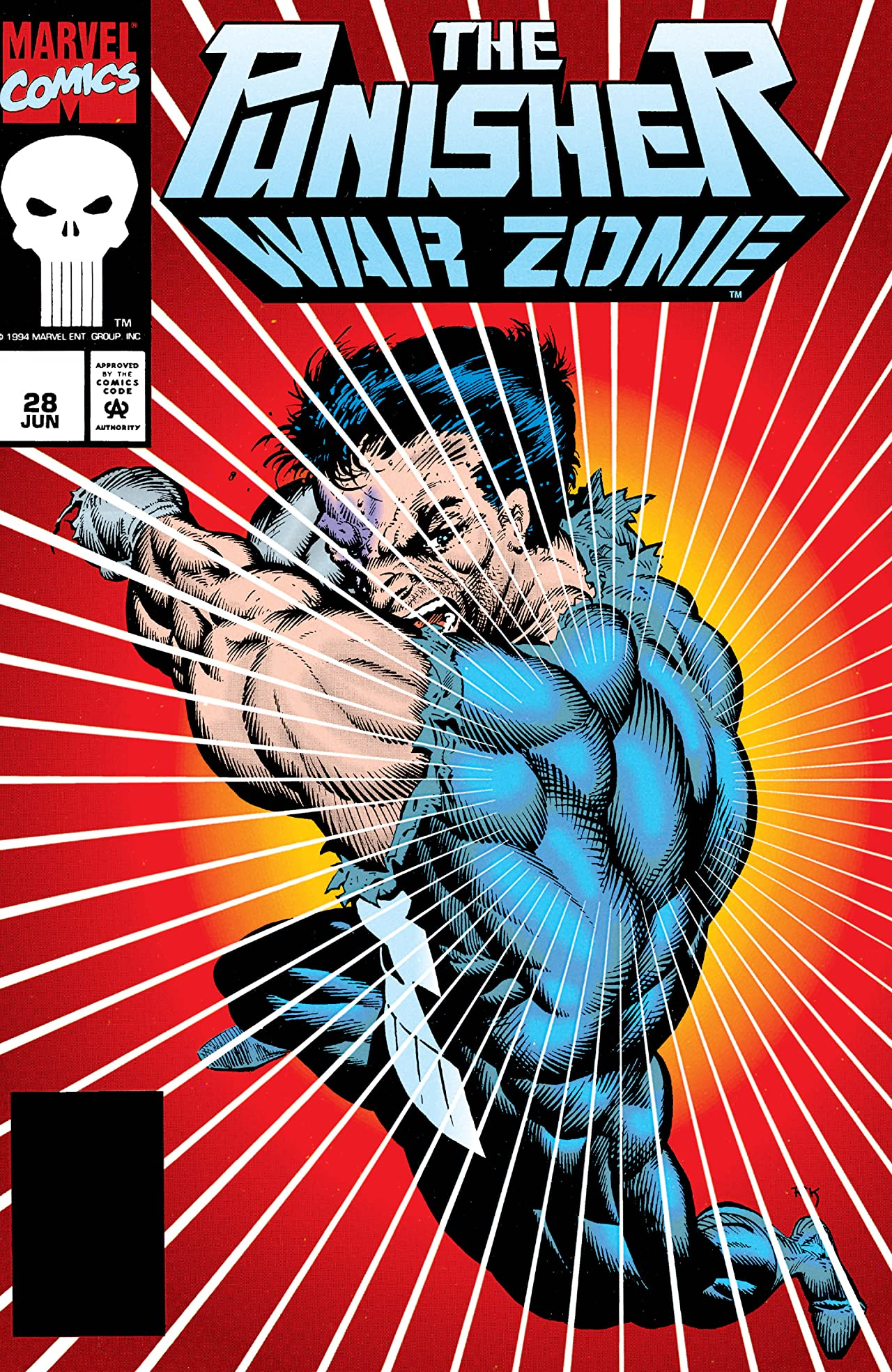 The Punisher: War Zone (1992-1995) #28