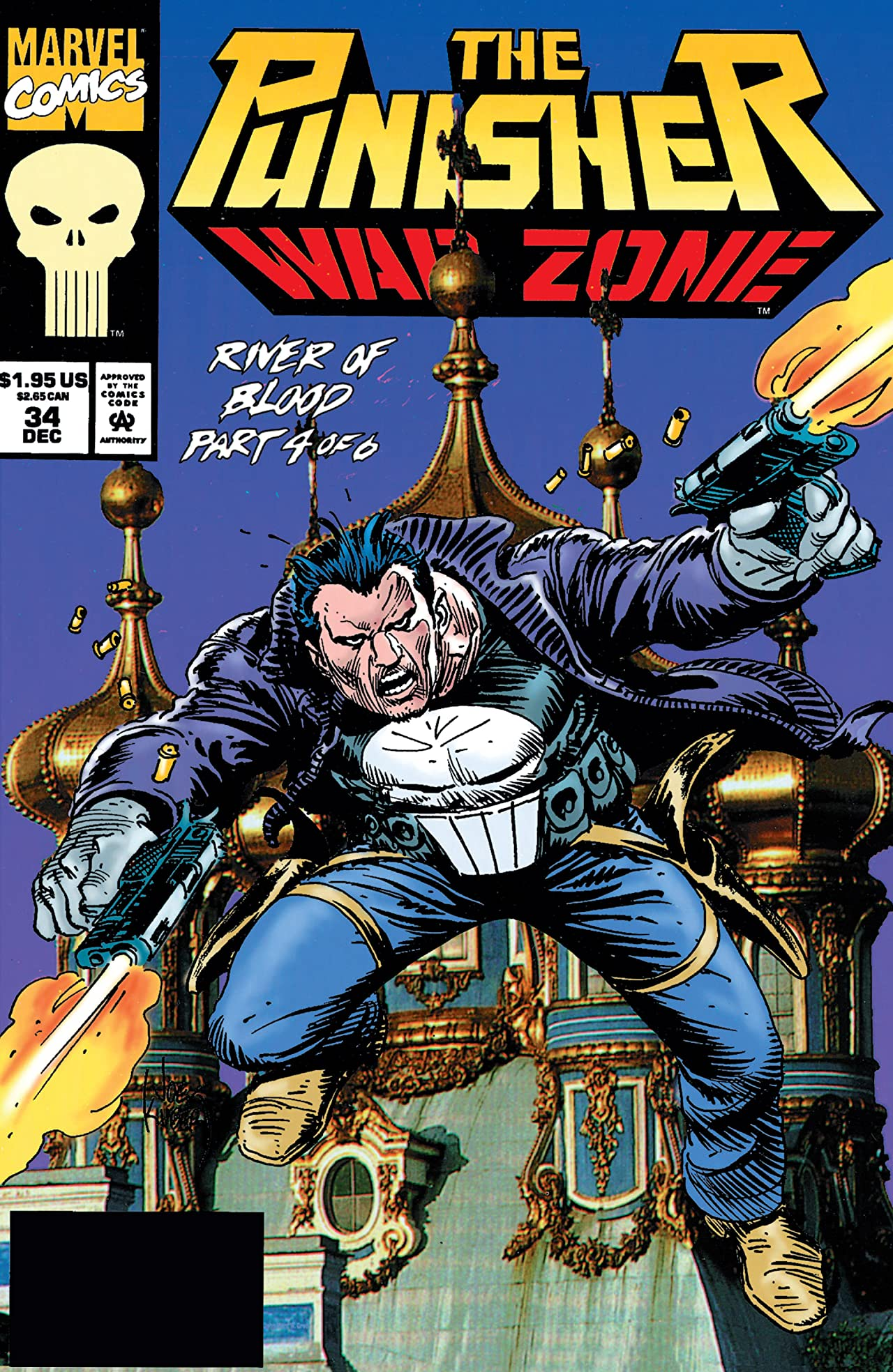 The Punisher: War Zone (1992-1995) #34