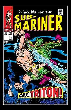 Sub-Mariner (1968-1974) #2