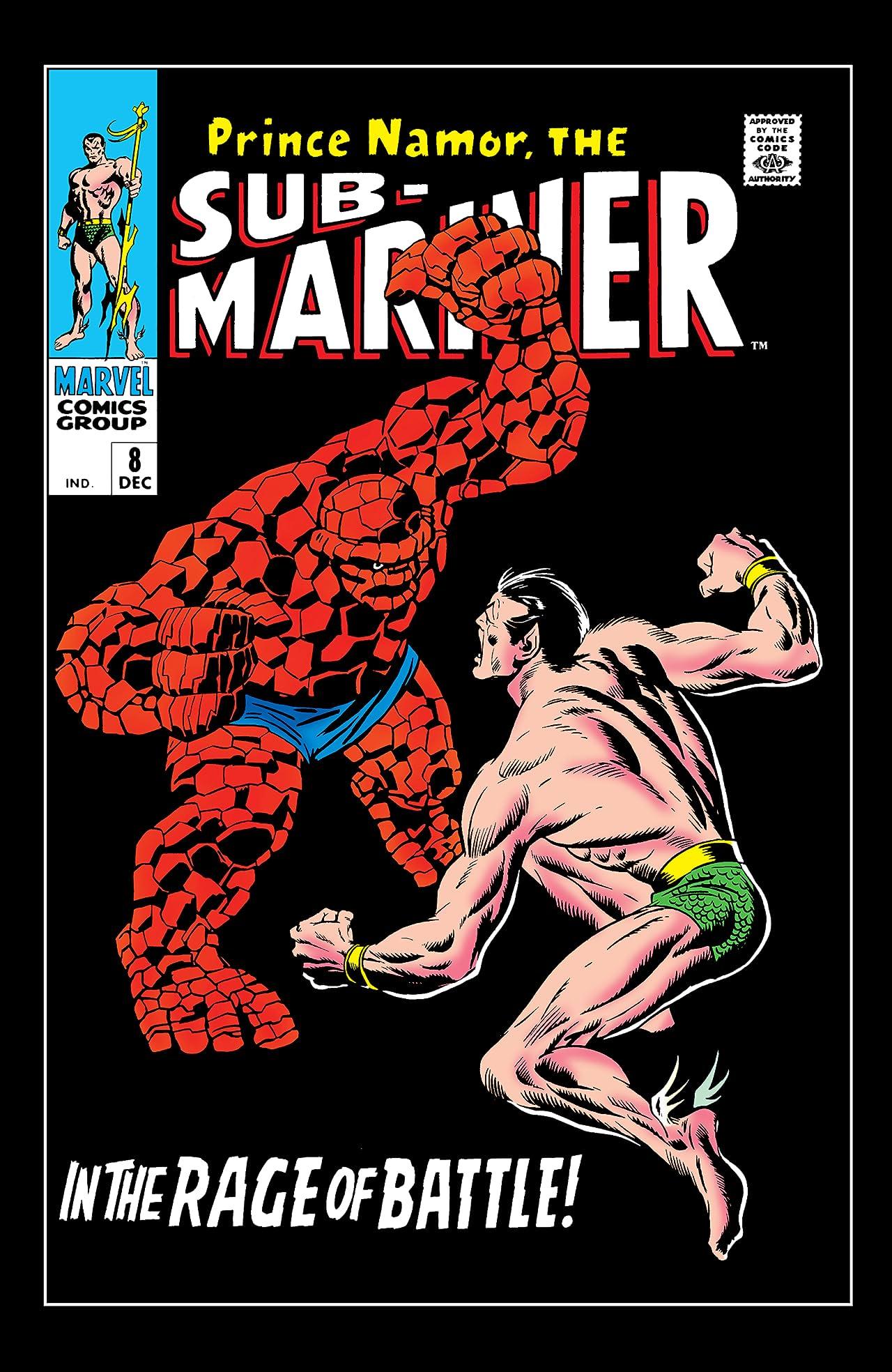 Sub-Mariner (1968-1974) #8