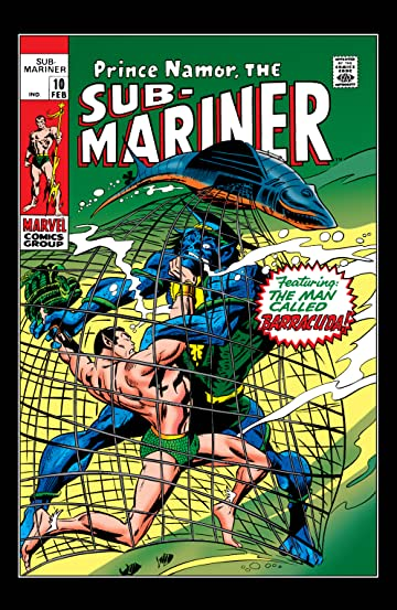 Sub-Mariner (1968-1974) #10