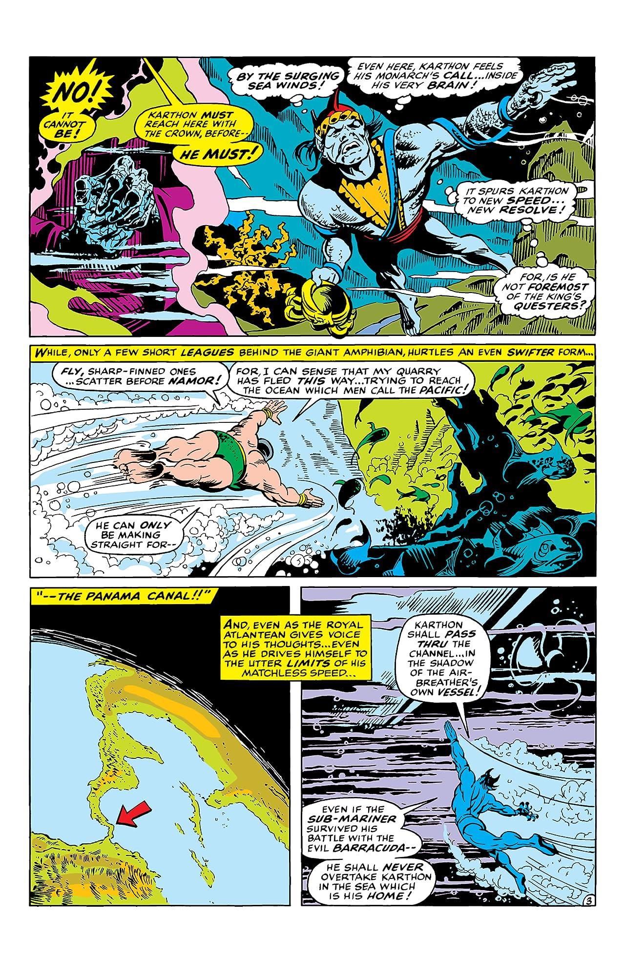 Sub-Mariner (1968-1974) #12