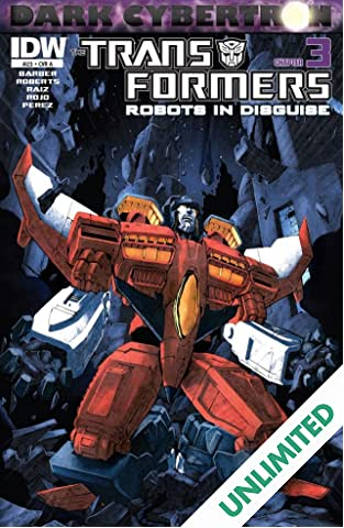 Transformers: Robots In Disguise (2011-) #23: Dark Cybertron Part 3