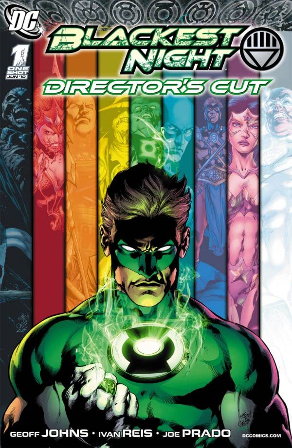 Blackest Night: Director's Cut #1