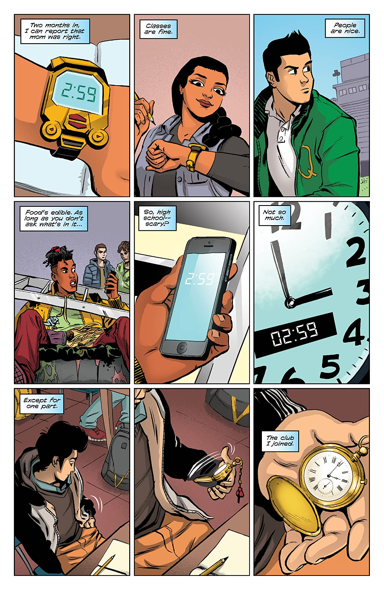 3 O'Clock Club Vol. 1: School's Out . . . of Control!