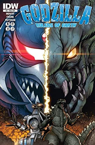 Godzilla: Rulers of Earth No.6