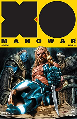 X-O Manowar (2017) No.5