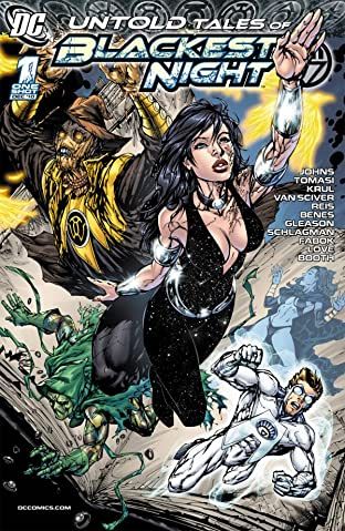 Untold Tales of the Blackest Night No.1