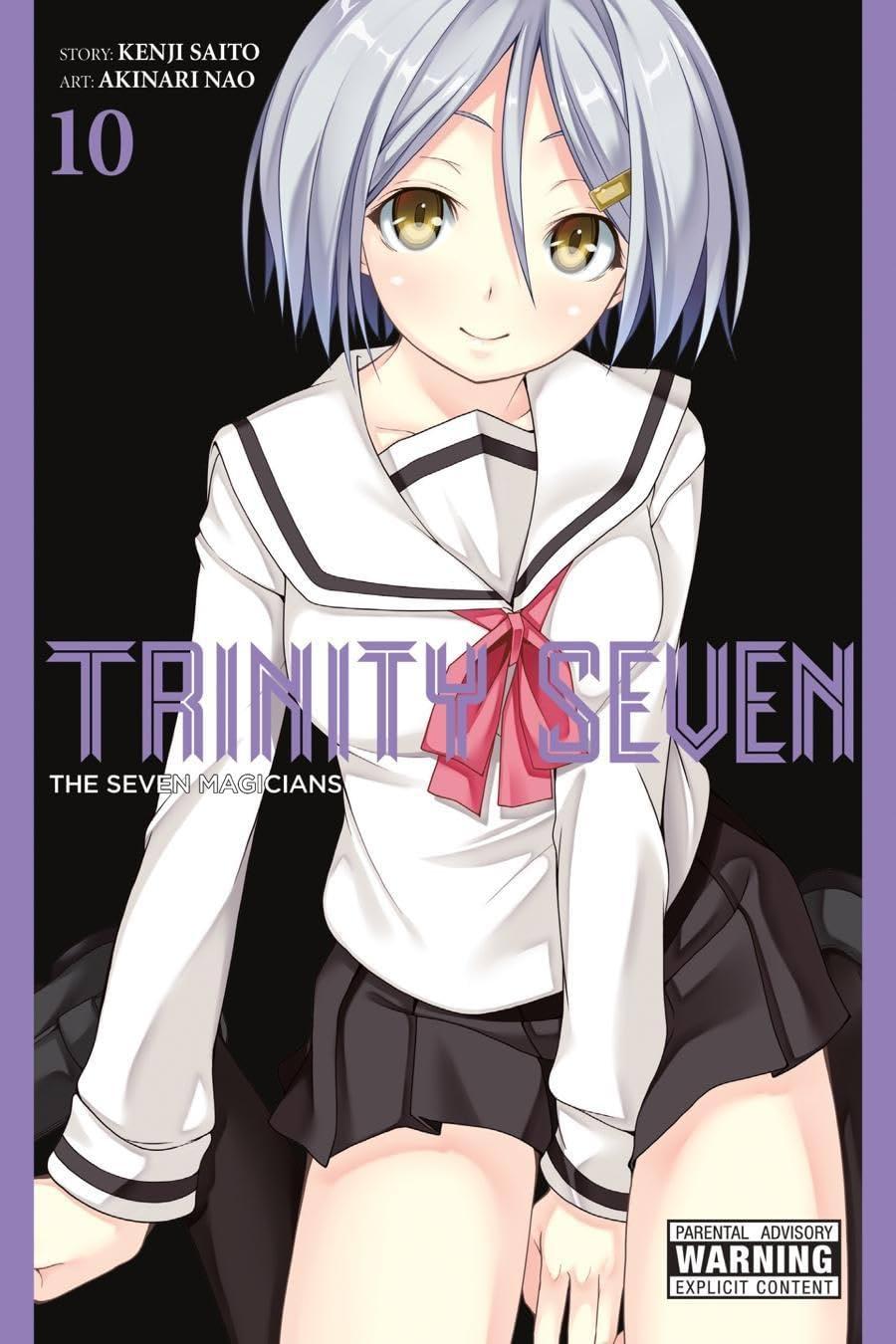 Trinity Seven Vol. 10: The Seven Magicians