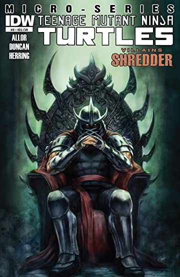Teenage Mutant Ninja Turtles: Villains Micro-Series #8: Shredder