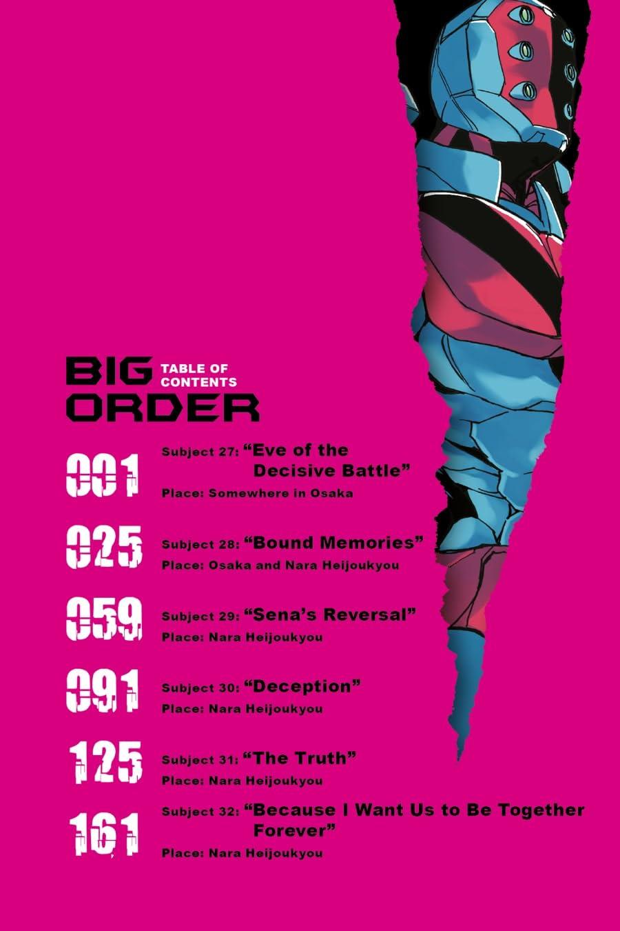 Big Order Vol. 6