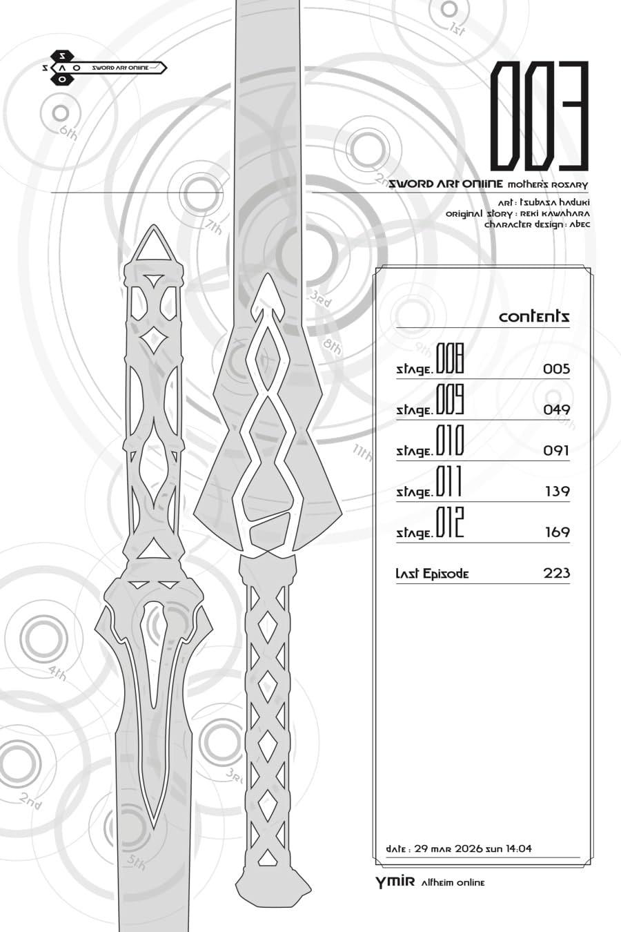Sword Art Online: Mother's Rosary Vol. 3