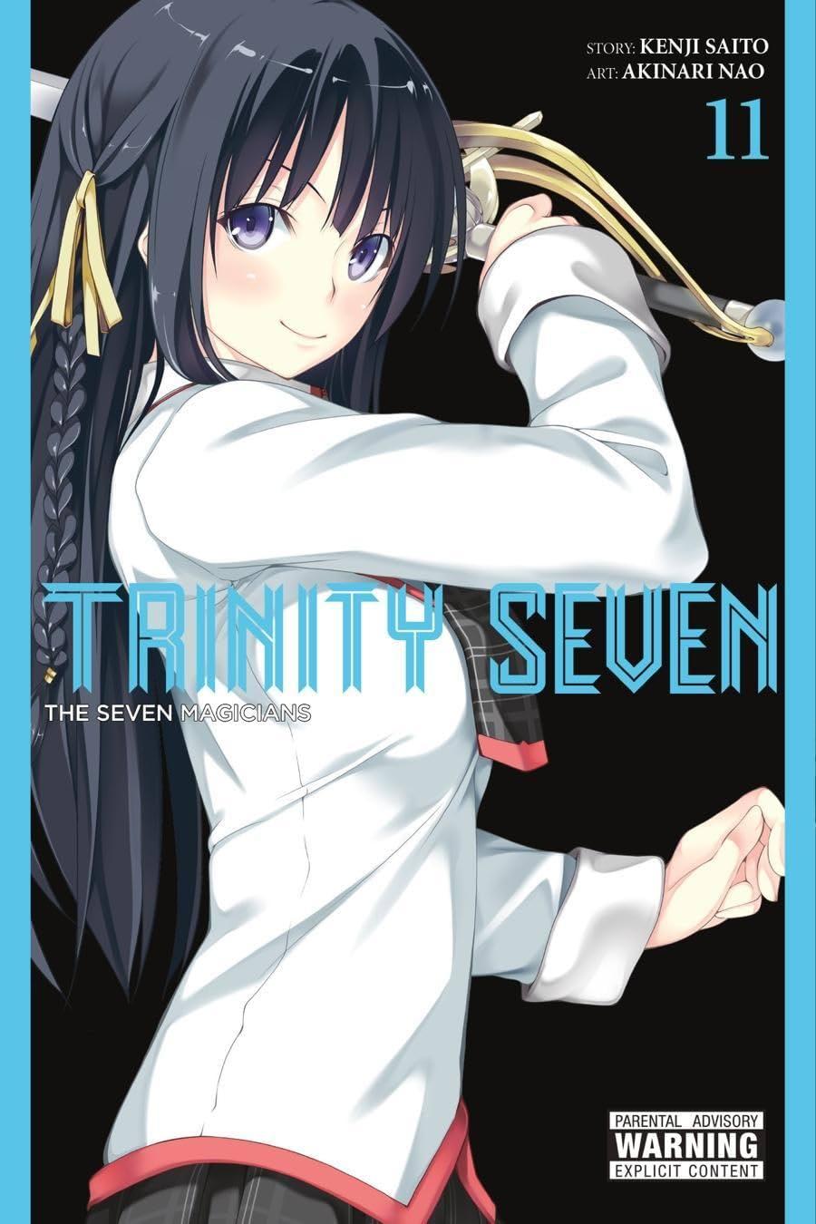 Trinity Seven Vol. 11: The Seven Magicians