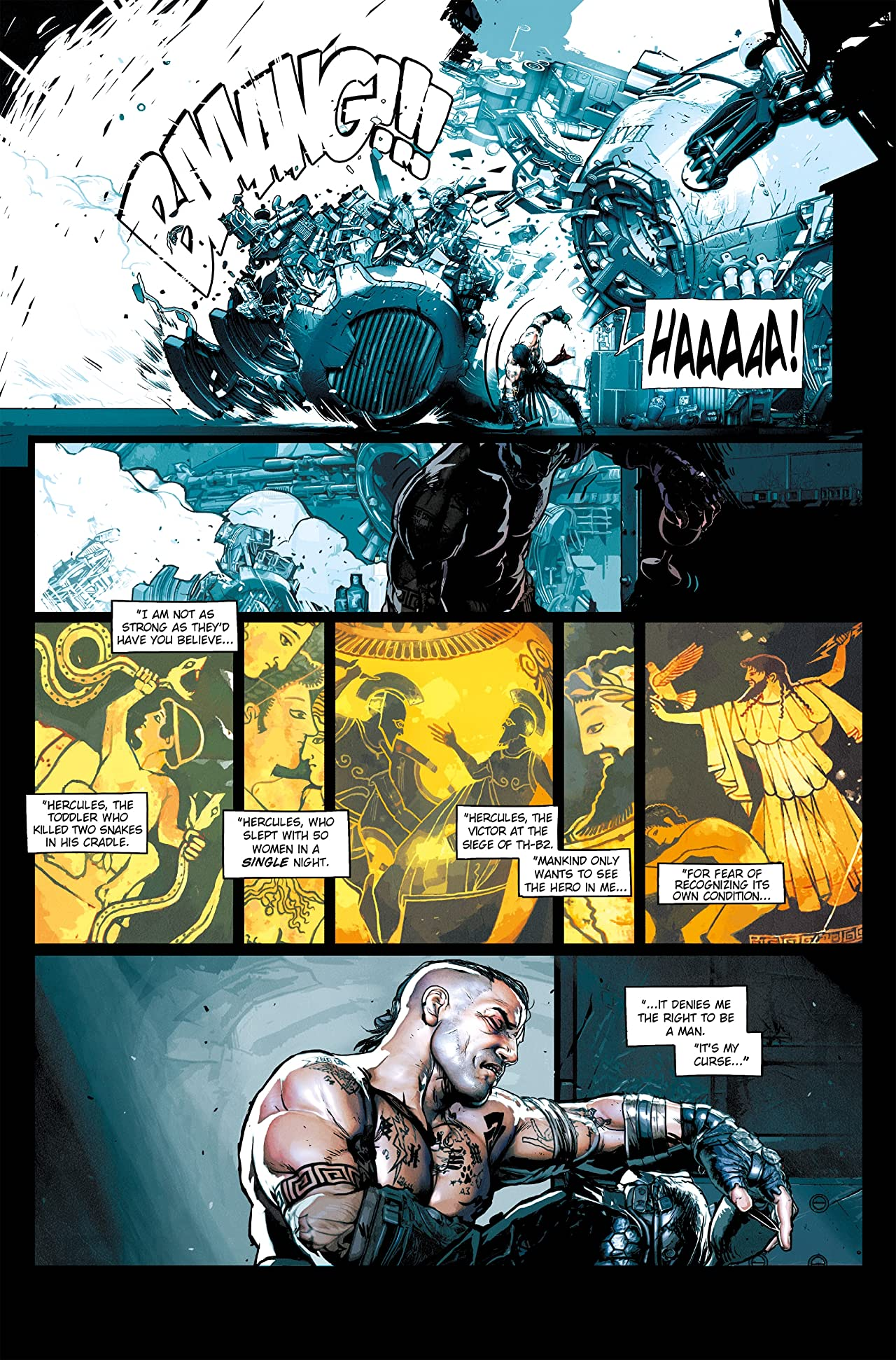 Hercules: The Wrath of the Heavens #1