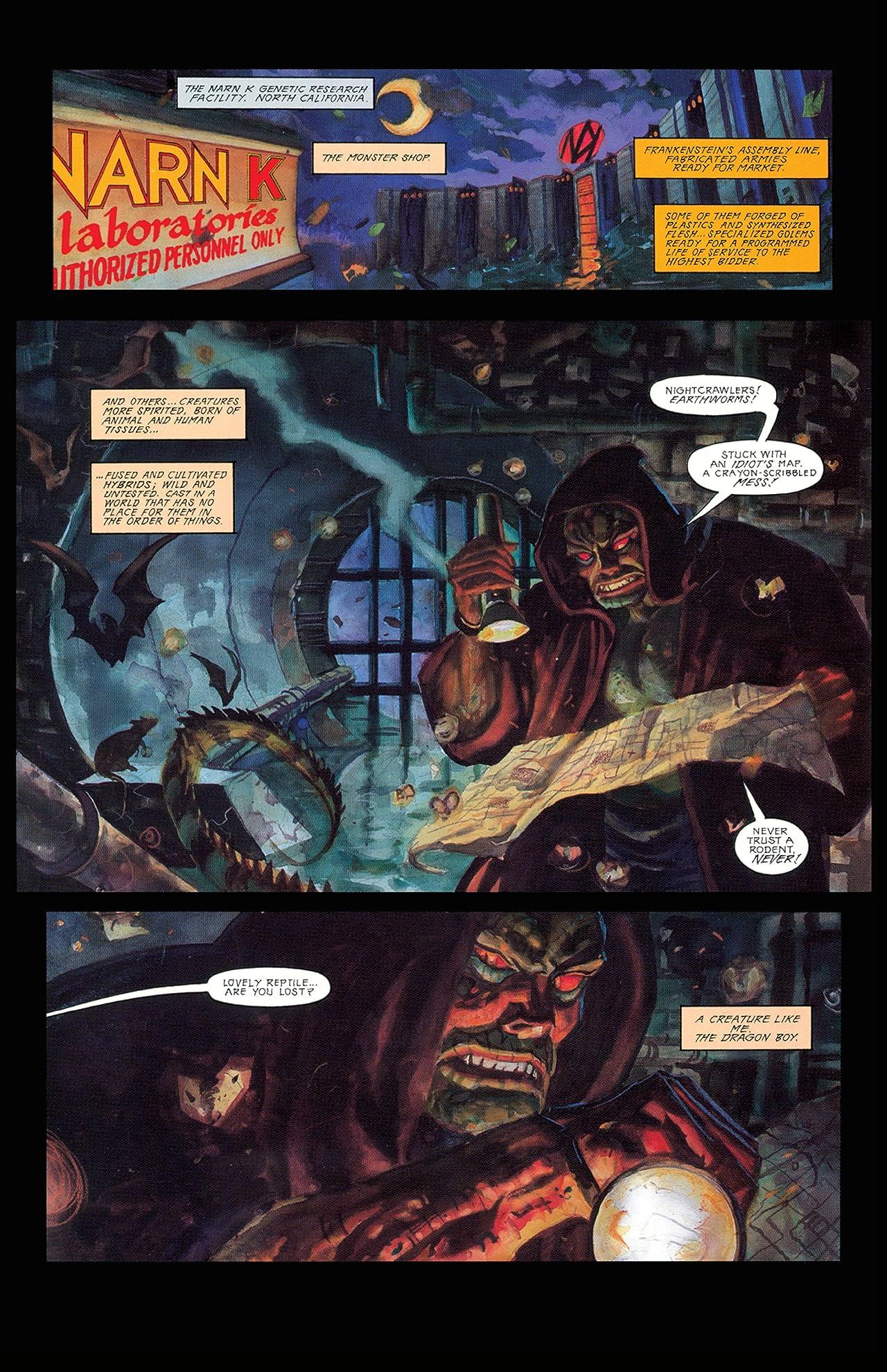 Nocturnals Vol. 1: Black Planet