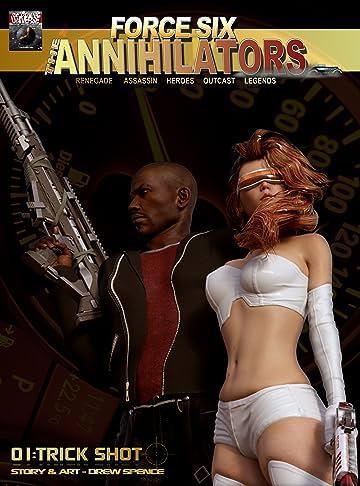 Force Six, The Annihilators #1