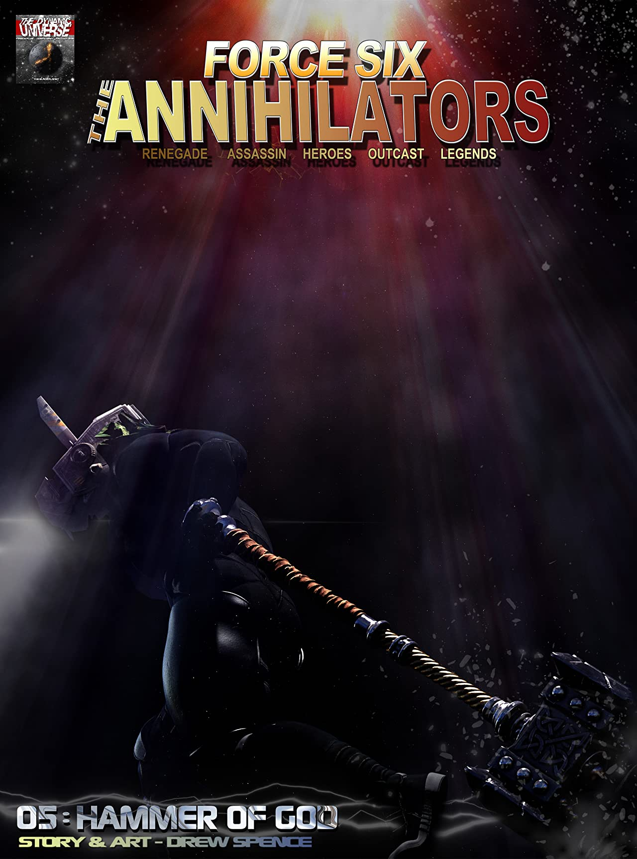 Force Six, The Annihilators Season I #5