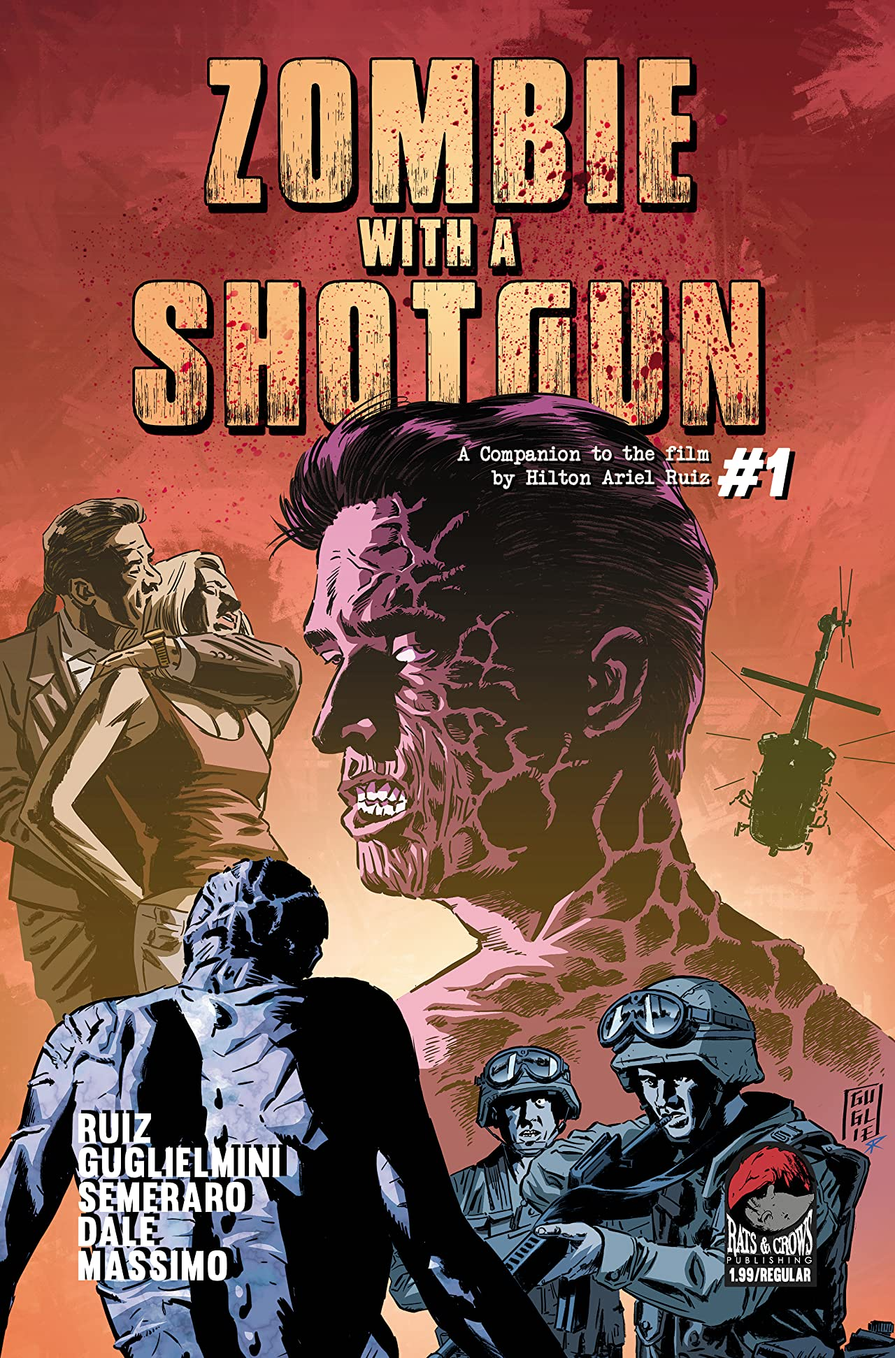 Zombie With a Shotgun #1