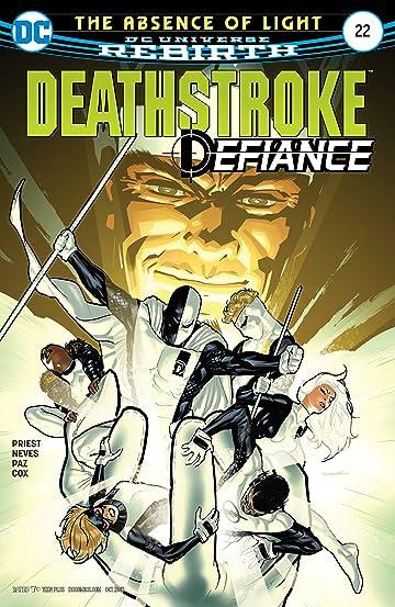 Deathstroke (2016-) #22