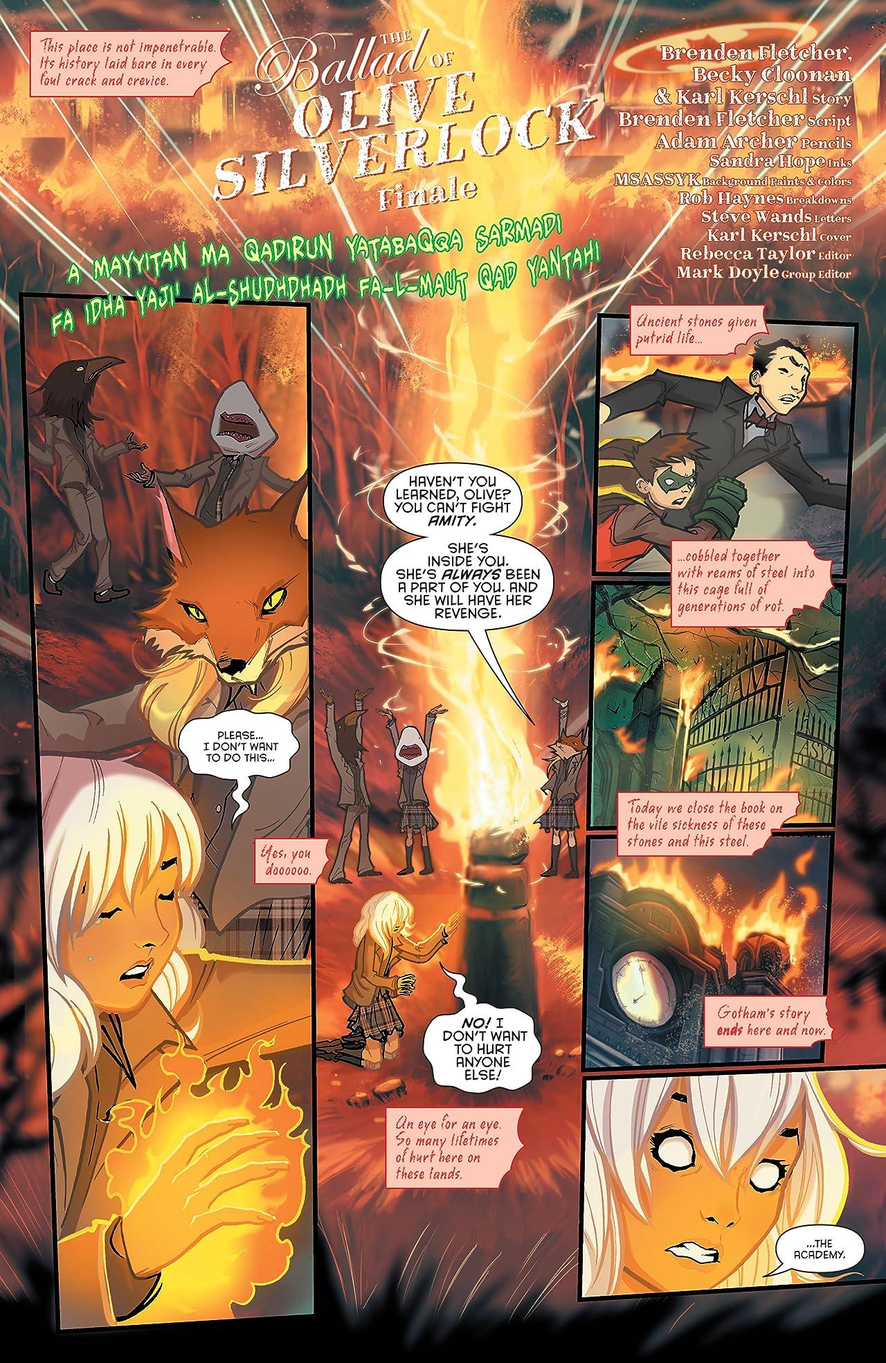 Gotham Academy: Second Semester (2016-2017) #12