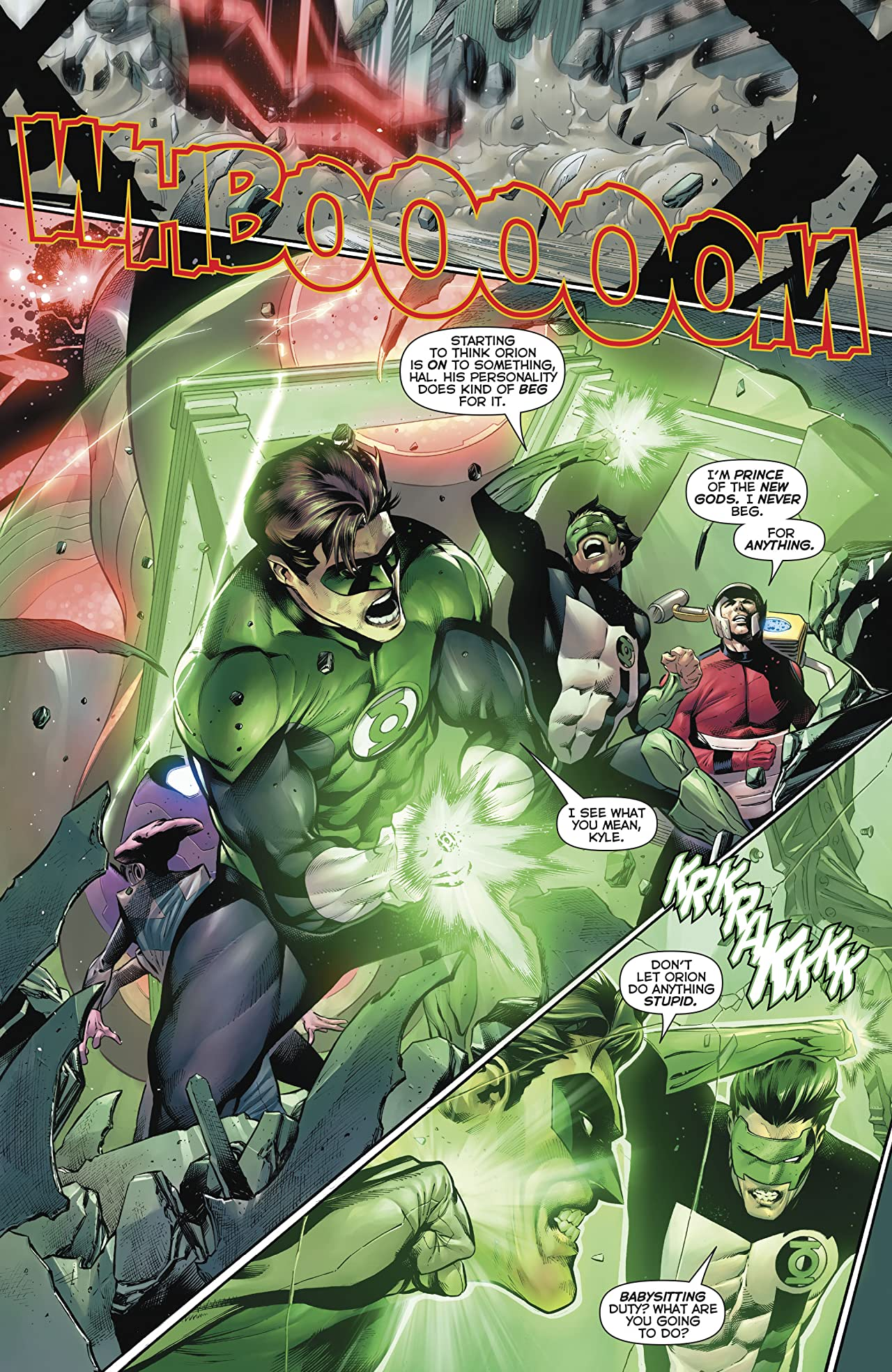 Hal Jordan and The Green Lantern Corps (2016-) #27