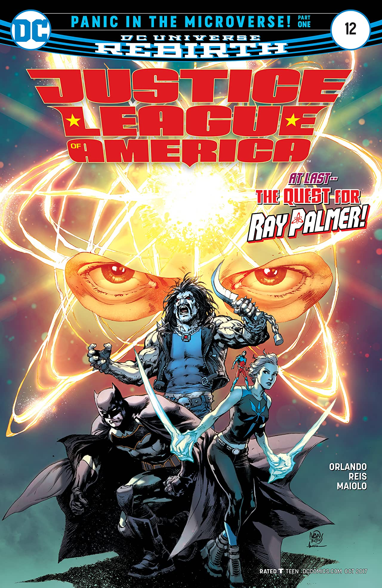 Justice League of America (2017-) #12