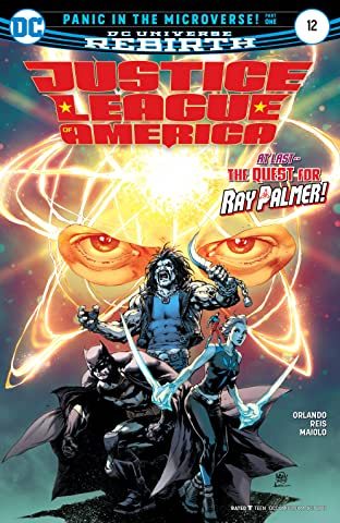 Justice League of America (2017-2018) #12