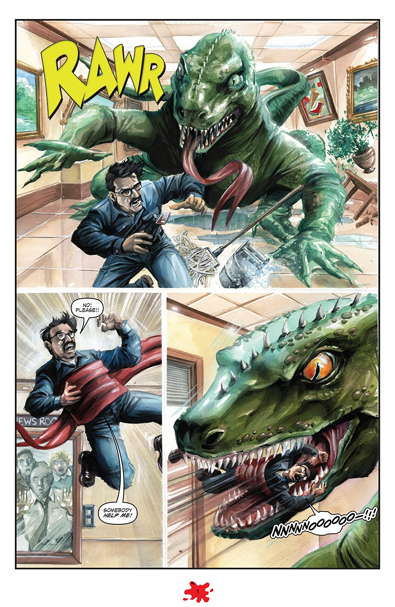 Dinosaurs Attack #5 (of 5)