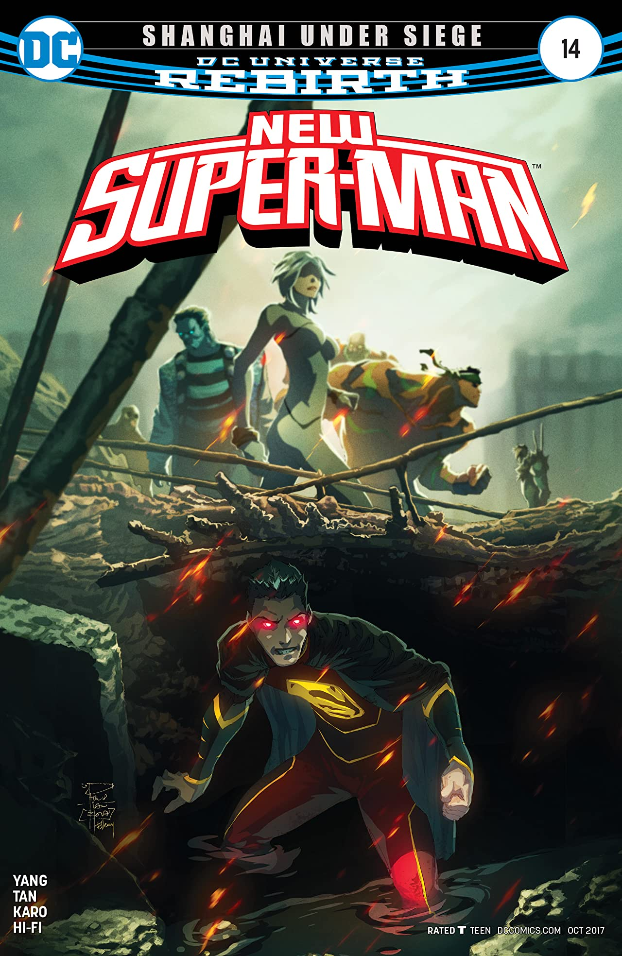 New Super-Man (2016-) #14