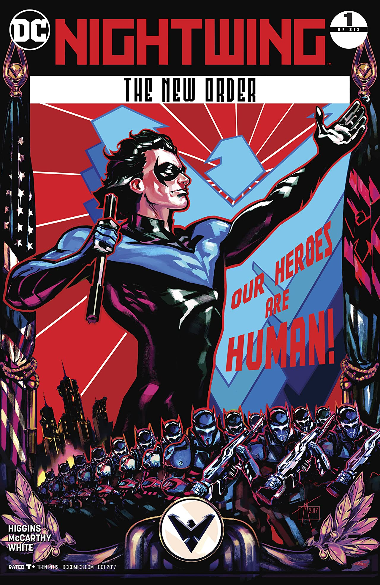 Nightwing: The New Order (2017-2018) #1
