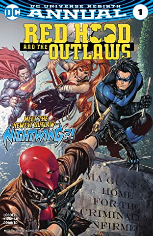 Red Hood and the Outlaws (2016-) Annual #1