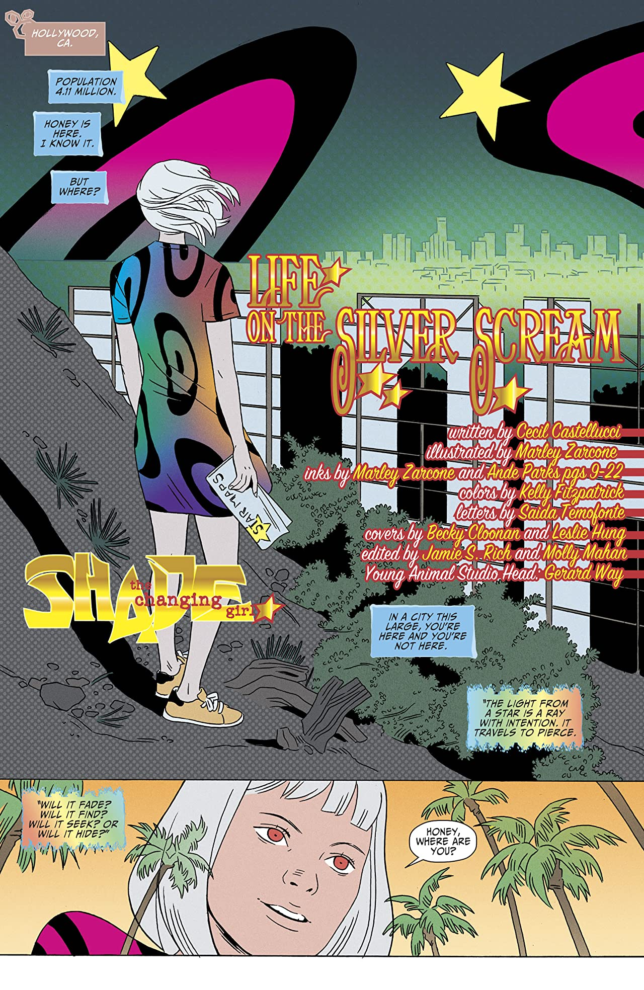 Shade, The Changing Girl (2016-) #11