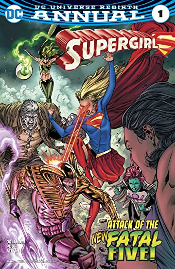 Supergirl (2016-) Annual #1