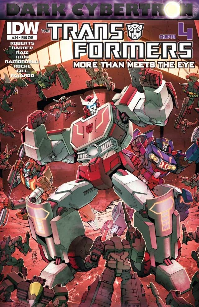 Transformers: More Than Meets the Eye (2011-) #24: Dark Cybertron Part 4