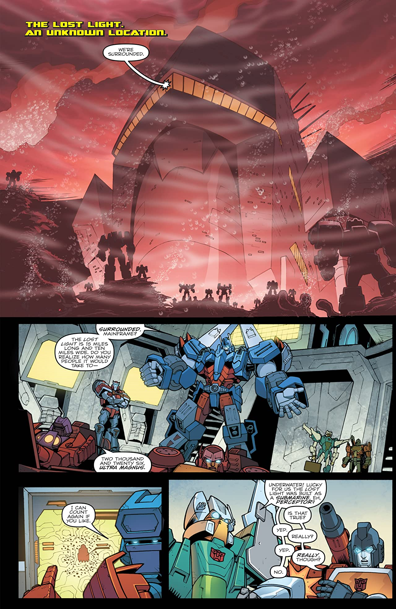 Transformers: More Than Meets the Eye (2011-2016) #24: Dark Cybertron Part 4