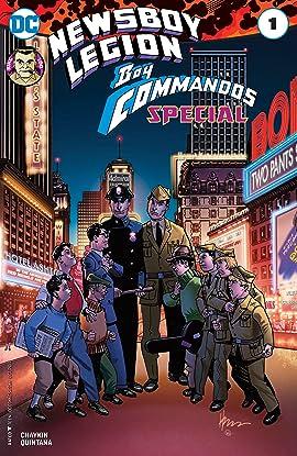 The Newsboy Legion and the Boy Commandos Special (2017) #1