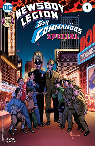 The Newsboy Legion and the Boy Commandos Special (2017) #1