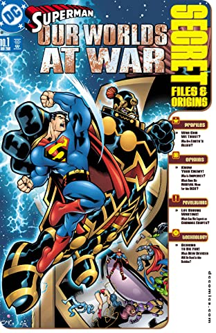 Superman: Our Worlds at War Secret Files (2001) No.1