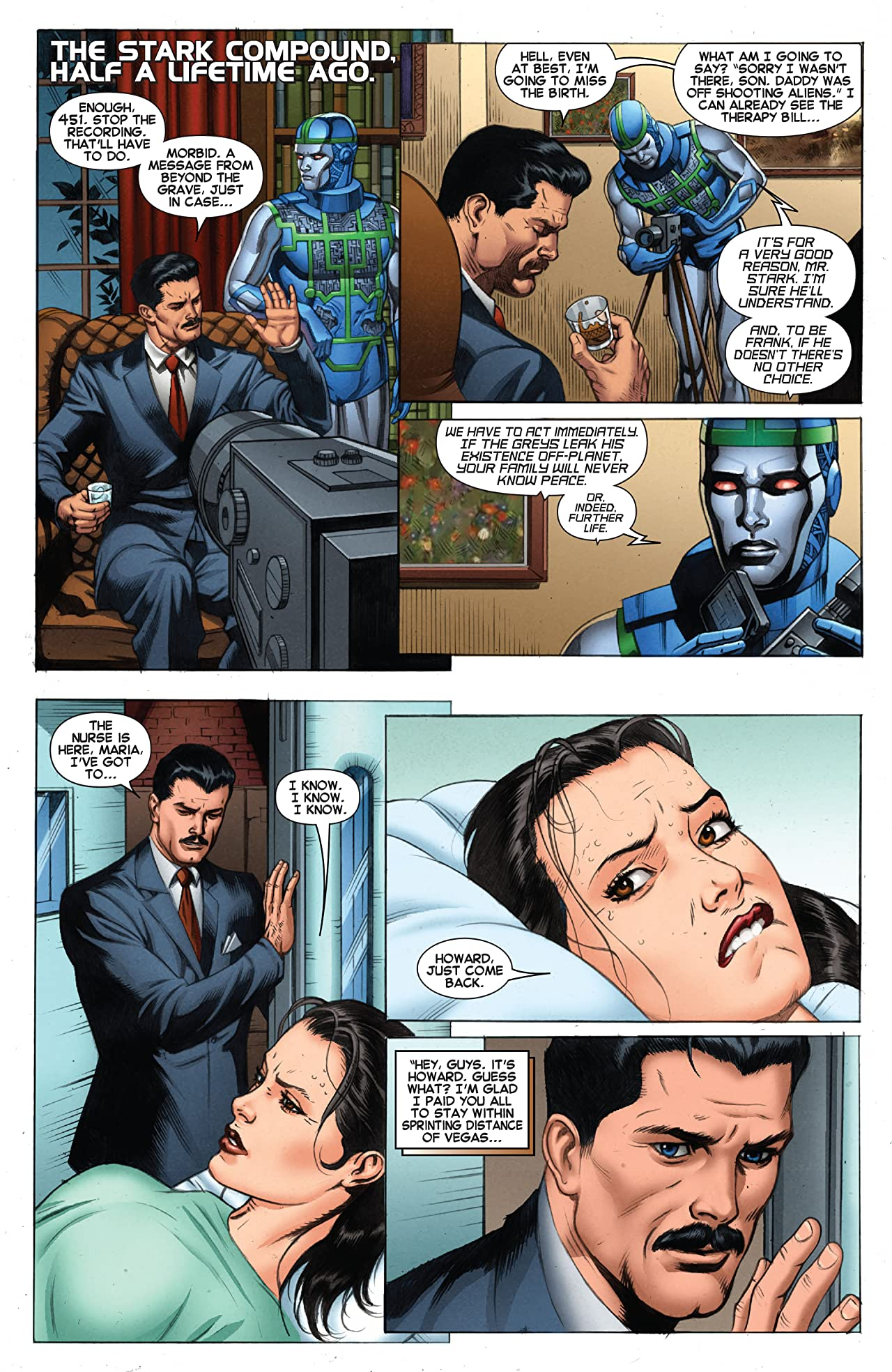 Iron Man Vol. 3: The Secret Origin of Tony Stark - Book Two